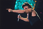 Various live photographs of the rock band, AC/DC