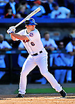 7 March 2010: New York Mets' outfielder Nick Evans in action during a Spring Training game against the Washington Nationals at Tradition Field in Port St. Lucie, Florida. The Mets edged out the Nationals 6-5 in Grapefruit League pre-season play. Mandatory Credit: Ed Wolfstein Photo