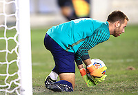 Houston, TX - Friday, December 09, 2016: Stanford defeated North Carolina in the semifinal of the 2016 College Cup  in penalty kicks after the game ended in a 0-0 tie at BBVA Compass Stadium.