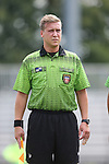 30 August 2015: Assistant Referee Tyler McCauley. The Elon University Phoenix played the Saint Mary's College Gaels at Koskinen Stadium in Durham, NC in a 2015 NCAA Division I Men's Soccer match. Elon won the game 1-0.