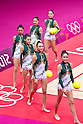 2012 Olympic Games - Gymnastics - Rhythmic : .Group All-Around Qualification Rotation 1