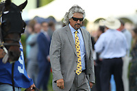 HOT SPRINGS, AR - APRIL 15: Trainer Steve Asmussen before the Arkansas Derby at Oaklawn Park on April 15, 2017 in Hot Springs, Arkansas. (Photo by Justin Manning/Eclipse Sportswire/Getty Images)
