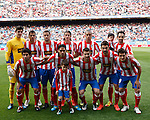 Liga bbva. Atl&eacute;tico de Madrid (1) vs (1) Real Sociedad. Estadio Vicente Calder&oacute;n. 2/5/2012