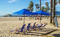 Santa Monica Beach, Wednesday, January 7, 2015.