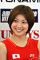 Reiko Shiota (JPN), .June 9, 2012 - Badminton : .Badminton Japan National Team Send-off Ceremony for the London Olympics 2012 .in Tokyo, Japan. .(Photo by Daiju Kitamura/AFLO SPORT) [1045]