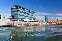 Newtown Creek Sewage Treatment Plant, Brooklyn, New York City, New York, USA