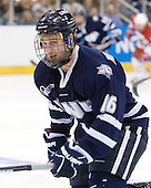 John Henrion (UNH - 16) - The University of New Hampshire Wildcats defeated the Miami University RedHawks 3-1 (EN) in their NCAA Northeast Regional Semi-Final on Saturday, March 26, 2011, at Verizon Wireless Arena in Manchester, New Hampshire.