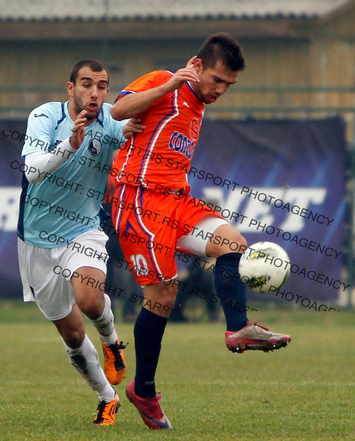 Ristovic Risto Belgrade, Serbia, Jelen Superliga Rad - Novi Pazar24.11.2012 (photo: Pedja Milosavljevic / thepedja@gmail.com / +381641260959)