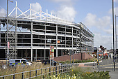 Blackpool FC South Stand construction......© Phill Heywood.