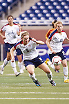 Amy Rodrigues (8) & Kristine Lilly (13). US Women National Team vs. China. US 1 China 0