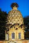 Dunmore Pineapple, Falkirk, Scotland.<br /> The Pineapple was built  in 1777 by John Murray, the 4th Earl of Dunmore, a former governor of Bermuda who resided in a part of the island chain well known for its pineapple plantations. It is said that he was so enamored by the fruit that he also grew pineapples at Dunmore, in glasshouses attached to the building that runs beneath the giant fruit.