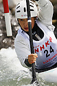 Moe Kaifuchi (JPN), APRIL 15, 2012 - Canoeing : 2012 Canoeing NHK Cup Slalom Competitions, Women's Kayak Single race semi final at Ida River, Toyama, Japan. (Photo by Yusuke Nakanishi/AFLO SPORT) [1090]