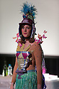 """London, UK. 9/7/11. Bryony Kimmings, presents """"7 Day Drunk"""" at Jacksons Lane, as part of their Postcards Festival."""