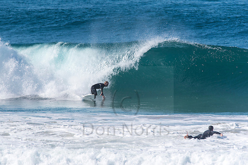 Sunny Sunday morning and we had 2 metres of SE swell at Dee Why.  There were waves from the point to the pole and I shot from just north of the club to just south of the pole.