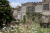 View of Haddon Hall over the Lower Garden