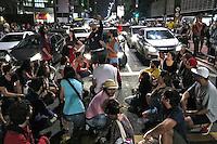Manifestaçao contra o impeachment do governo Dilma. Avenida Paulista. Sao Paulo. 2016. Foto de Juca Martins.
