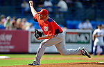 28 February 2011: Washington Nationals' pitcher Todd Coffey in action during a Spring Training game against the New York Mets at Digital Domain Park in Port St. Lucie, Florida. The Nationals defeated the Mets 9-3 in Grapefruit League action. Mandatory Credit: Ed Wolfstein Photo