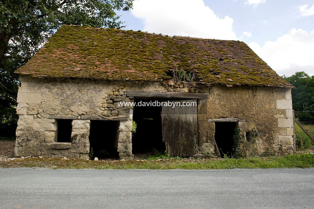 View of an old house near Chenonceaux, France, 25 June 2008.