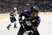 Anze Kopitar (Los Angeles Kings, #11) during ice-hockey match between Los Angeles Kings and Colorado Avalanche in NHL league, February 26, 2011 at Staples Center, Los Angeles, USA. (Photo By Matic Klansek Velej / Sportida.com)