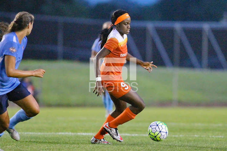 Piscataway, NJ - Saturday July 09, 2016: Chioma Ubogagu during a regular season National Women's Soccer League (NWSL) match between Sky Blue FC and the Houston Dash at Yurcak Field.