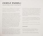 Zanele Muholi: Isibonelo/Evidence Installation Views