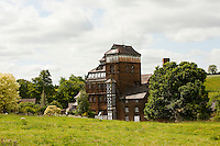The Victorian tower brewery at Hook Norton Brewery, Oxfordshire.
