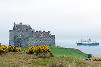 Isle of Mull, Hebrides, Scotland, May 2010. Duart Castle is owned and restored by the McLeans family. The green Island of Mull has some spectacular nature and is dotted with tiny villages. Dutch Tallship Thalassa sails between the islands along the Scotish west coast in search of the quality single malt whisky that is produced by the many distilleries. Photo by Frits Meyst/Adventure4ever.com