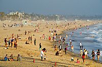 Santa Monica beach on Saturday, May 11, 2013.