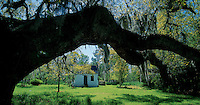 Slave Cabin,  Magnolia Plantation and Gardens,  Ashley River Road, Charleston County, South Carolina, United States