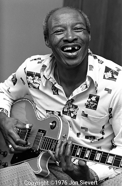 Jimmy Reed, 6/11/76, San Francisco