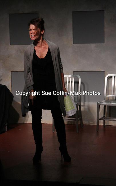 "One Life To Live's Florencia Lozano ""Tea Delgado stars  in ""Verbatim Verboten - NYC"" on October 18, 2010 at the WorkShop Theater, NYC. (Photo by Sue Coflin/Max Photos)"