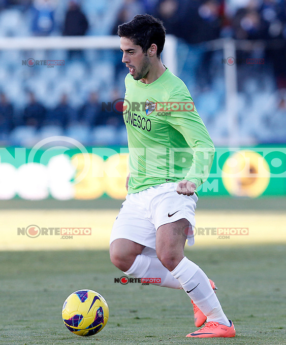 Malaga's Isco during La Liga match.December 01,2012. (ALTERPHOTOS/Acero) ©/NortePhoto
