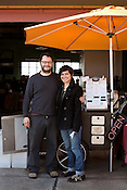 December 3, 2011. Durham, NC..  Areli Barrera de Grodski and Leon Grodski de Barrera are the owners of Cocoa Cinnamon, a specialty chocolate shop, as well as bikeCoffee, a bicycle powered mobile coffee shop.