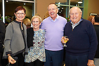 """Laughing Matters"" fundraiser event presented by Cancer Support Community at STL Motorcars in Chesterfield, Missouri on Nov 12, 2016."