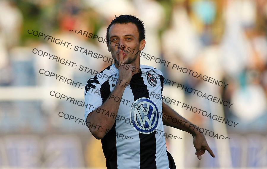 Fudbal, Super liga, season 2008/09.OFK Beograd Vs. Partizan.Nenad Djordjevic.Baku, 08.312008..foto: Srdjan Stevanovic ©