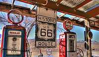 Hackberry Gas Pumps - Route 66 - Arizona