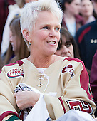 Denise Carey - The 2012 National Champion Boston College Eagles were honored with a parade and rally on campus on Tuesday, April 10, 2012, in Chestnut Hill, Massachusetts.