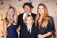 Tony Griffin & Family arriving at the Television Academy Hall of Fame Ceremony in Beverly Hills, CA .December 9, 2008.©2008 Kathy Hutchins / Hutchins Photo....                .