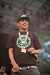 Big Sean Performs at Wiz Khalifa with Special Guests Big Sean and Chevy Woods, Central Park SummerStage, NY 7/25/11