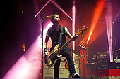 SUM 41 - bassist Jason McCaslin - performing live at the Academy Brixton in London UK - 02 Mar 2017.  Photo credit: Paul Harries/IconicPix