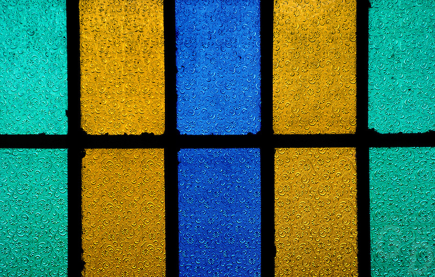 Colored Stain Glass window, Philippines