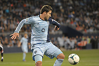 Claudio Bieler (16) forward Sporting KC in action..Sporting Kansas City defeated D.C Utd 1-0 at Sporting Park, Kansas City, Kansas.