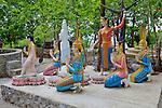 Statues At Pagoda