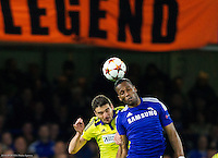 20141021: GBR, Football - UEFA Champions League 2014/15, Chelsea FC vs NK Maribor