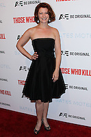 """HOLLYWOOD, LOS ANGELES, CA, USA - FEBRUARY 26: Kerry O'Malley at the Premiere Party For A&E's Season 2 Of """"Bates Motel"""" & Series Premiere Of """"Those Who Kill"""" held at Warwick on February 26, 2014 in Hollywood, Los Angeles, California, United States. (Photo by Xavier Collin/Celebrity Monitor)"""