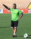St Johnstone UEFA Cup Qualifyer, Armenia...01.07.15<br /> Head Coach of Alashkert FC Abrahim Khashmanyan takes training<br /> Picture by Graeme Hart.<br /> Copyright Perthshire Picture Agency<br /> Tel: 01738 623350  Mobile: 07990 594431