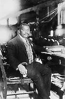 1924 file photo - Marcus garvey