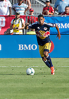 July 20, 2013: New York Red Bulls midfielder/defender Michael Bustamante #23 in action during a game between Toronto FC and the New York Red Bulls at BMO Field in Toronto, Ontario Canada.<br /> The game ended in a 0-0 draw.
