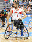 November 18 2011 - Guadalajara, Mexico:  Adam Lancia of Team Canada in the CODE Alcalde Sports Complex at the 2011 Parapan American Games in Guadalajara, Mexico.  Photos: Matthew Murnaghan/Canadian Paralympic Committee