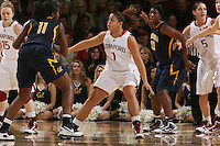 STANFORD, CA - JANUARY 2:  Grace Mashore of the Stanford Cardinal during Stanford's 79-58 win over the California Golden Bears on January 2, 2010 at Maples Pavilion in Stanford, California.
